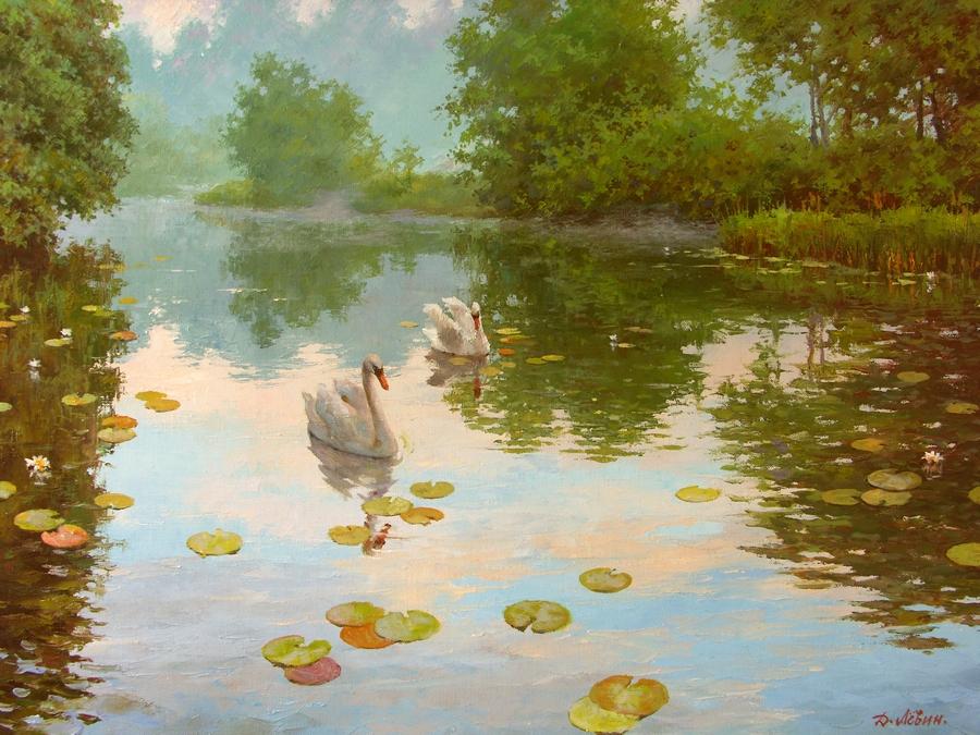 Вдали от суеты: деревенская живопись Дмитрия Лёвина 7