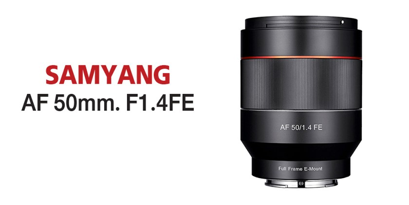 REVIEW : SAMYANG AF 50MM. F1.4FE