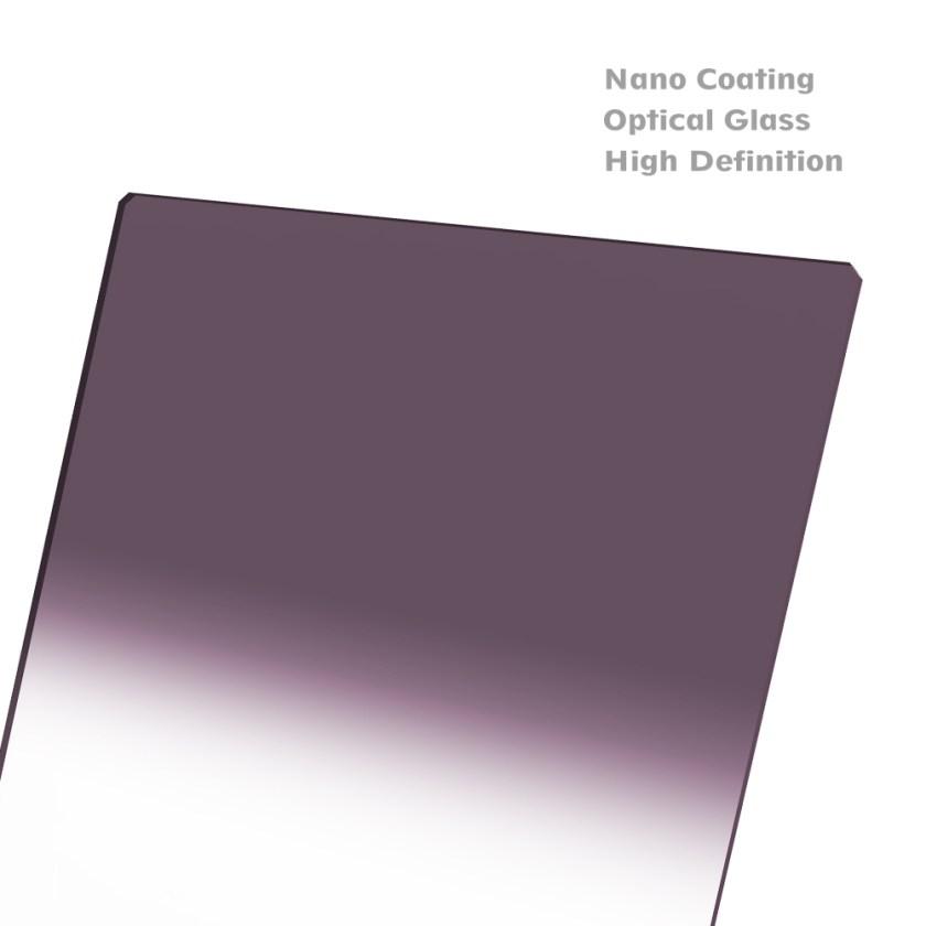 NISI Hard Nano IR GND 100x150mm ฟิลเตอร์ครึ่งซีกแบบ Hard สำหรับถ่ายภาพ Landscape ฟิลเตอร์สำหรับถ่ายภาพทิวทัศน์ NISI Hard Nano IR GND