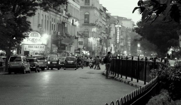 At Colaba, Mumbai.