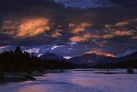 Colds over river in Jasper, Albert, photograph by Brent Vanfossen