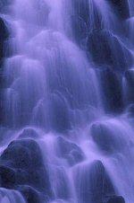 Waterfall near Valdez, Alaska, photograph by Brent VanFossen