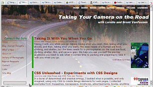 1024x768 view of Taking Your Camera on the Road front page