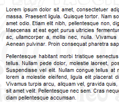 example of the latin filler of loren ipsum