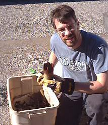 Brent goes through our bins to find rusted and rotted items