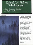 Outdoor and Nature Photography Magazine, article about School of Nature Photography