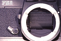 with the mirror locked up, the shutter is exposed and ready to take a picture.