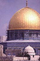 Dome of the Rock built on the remains of the Jewish Temples (Temple Mount), photo by Lorelle VanFossen