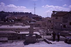 From the rooftop of Jerusalem, photo by Lorelle VanFossen
