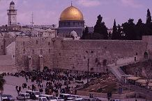 The Western (Wailing) Wall continues to attract visitors, though fewer Photo by Lorelle VanFossen