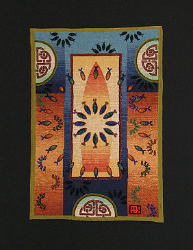 Tapestry and beading by Ann Baddeley Keister