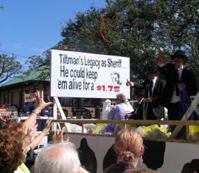 Comic Cowboys, Mardi Gras Parade, Mobile, Alabama, 2006, photograph by Lorelle VanFossen