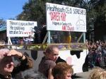 Mardi Gras 2006, Mobile, Alabama, Comic Cowboys, photographs copyright Lorelle VanFossen