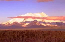 Mt. Denali, Alaska, photograph by Brent VanFossen