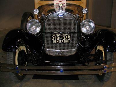 oldcar-1929 mobile alabama antique car show lorelle vanfossen 2006
