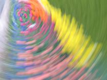 tulip blur circles 8 white lorelle vanfossen