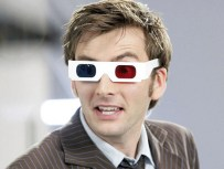doctor who - david tennant with 3D glasses