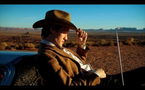 doctor who screencap - matt smith cowboy