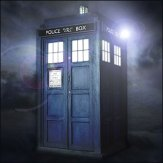 doctor who - tardis - burst