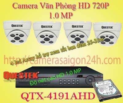 Lắp đặt camera quan sát giá rẻ camera quan sát gia đình ban đêm HD siêu sáng qtx-4121ahd