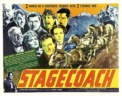 Poster - Stagecoach (1939)