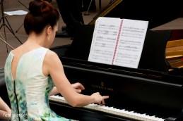 V iskreno veselje nam je, da smo letos prvič nastopili s pianistko, študentko AG in MF, Matejo Lasič.