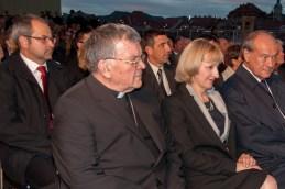 V prvi vrsti tudi apostolski administrator mariborske nadškofije, msgr. dr. Stanislav Lipovšek.
