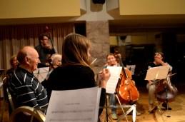 Pogledi s pultov prvih violin...