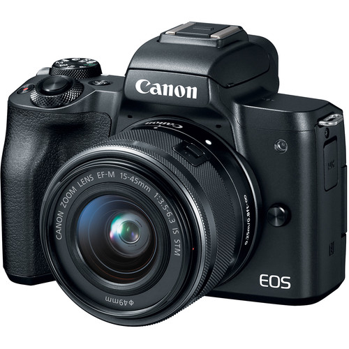 Canon M50 Mirrorless Camera with 15-45mm Lens