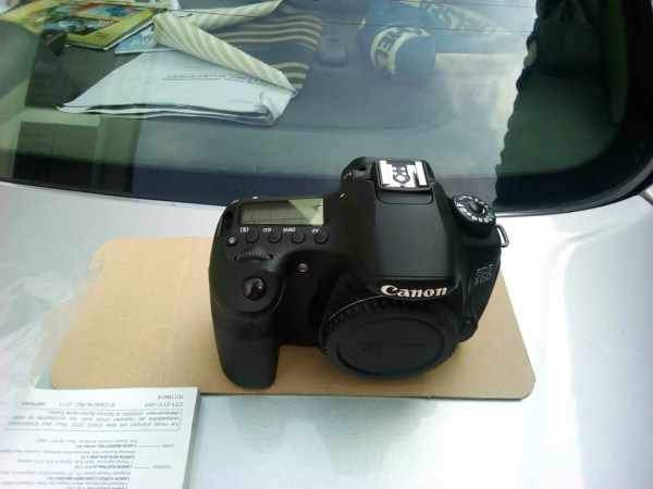 Canon EOS 60D DSLR Camera (Body Only) Used