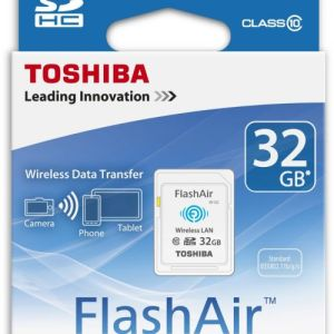 Toshiba 32GB FlashAir III Wireless SD Card