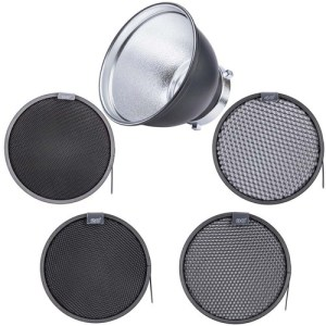 "Standard 7"" Reflector and 4-Honeycomb Grid Bundle"