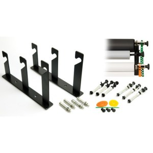 Wall Mounting Kit for Holding Three Seamless Backdrops