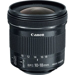 Canon EF-S 10-18mm f/4 IS STM Lens UK USED