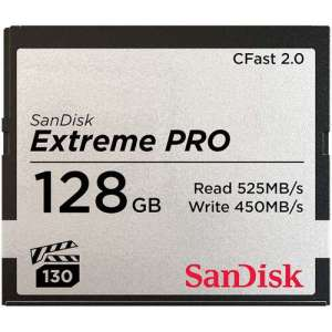 SanDisk 128GB Extreme PRO CFast 2.0 Memory Card