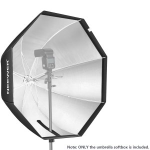 Octagon Softbox Octagonal Speedlite, Studio Flash, Speedlight Umbrella Softbox with Carrying Bag 80 centimeters