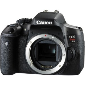 Canon EOS Rebel 750/T6i DSLR Camera (Body Only)