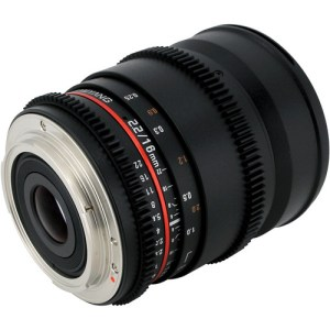 Samyang 16mm T2.2 Cine Lens for E Mount
