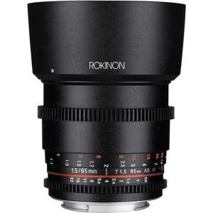 Rokinon 85mm T1.5 Cine DS Lens