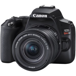Canon EOS Rebel SL3 DSLR Camera with 18-55mm Lens (Black)