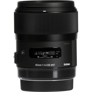 Sigma 35mm f/1.4 DG HSM Art Lens for Canon/Nikon F