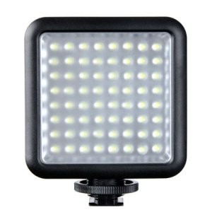 Godox LED64 Dimmable LED Video Light for DSLR Cameras, Camcorders