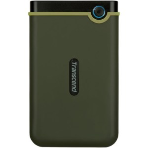 Transcend 1TB USB 3.1 Storejet 25M3 Portable Hard Drive (Military Green)