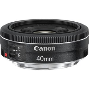 Canon EF 40mm f/2.8 STM Lens (UK USED)