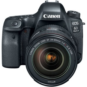 Canon EOS 6D Mark II DSLR Camera with 24-105mm USM f/4L II Lens