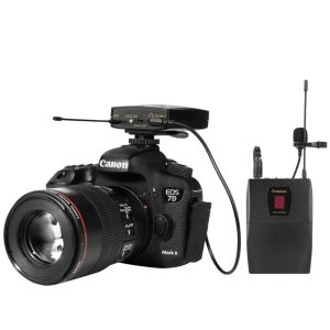 FreeLav Wireless UHF DSLR Camera Microphone System