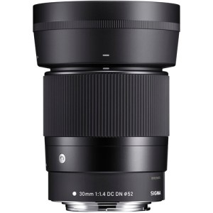 Sigma 30mm Contemporary Lens for Canon EF-M