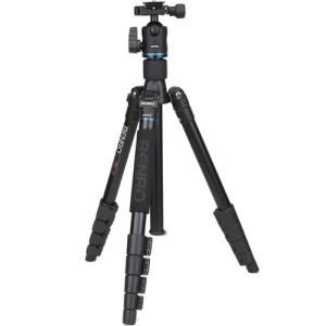 Benro iTrip25 Aluminum Travel Tripod with Ball Head
