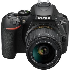 Nikon D5500 DSLR Camera with 18-55mm Lens