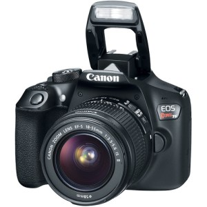 Canon EOS Rebel T6/1300D DSLR Camera with 18-55mm Lens